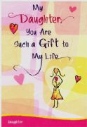 My Daughter Card